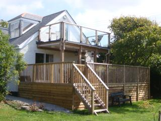 Large Raised Deck and Sea View Balcony - Main Cottage