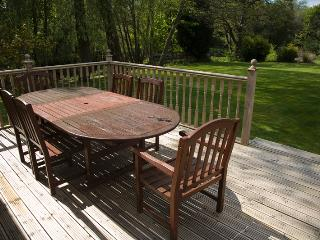 Self-catering house in Ayrshire with huge garden, close to the beach
