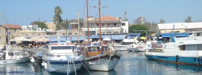 Enjoy a cruise or fishing trips or hire a speed boat all available in the Pafos harbour (15km from