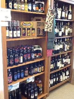 Local & regional wines, ciders, beers and ales, flavoured vodkas & fine wines from around th