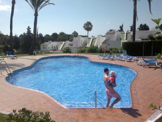 Puerto Banus Marbella with stunning heated swimming pool