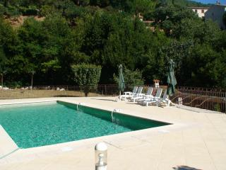 Amanou villa solar heated swim pool in Seillans