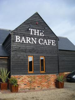 The Barn Cafe open 6 days a week for breakfast,lunch and afternoon tea.