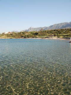 Our beatiful local beach offers excellent swimming & a fantastic restaurant