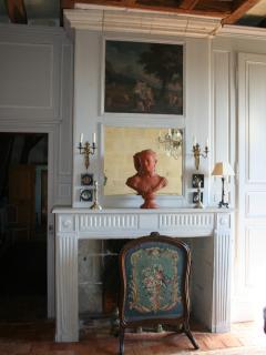 Manoir du Buisson Perron : Chambre Vénitienne Etage