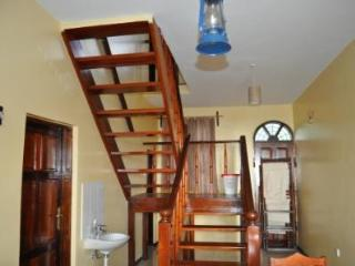 Stairwell to the top floor