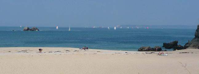 ONE OF THE MANY BEACHES ALONG THE BAY OF AUDIERNE