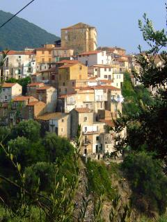 A view of Pisciotta village