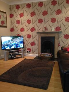 40' Flat screen TV with Freeview