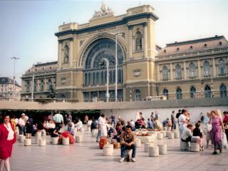 Central Studio near  Keleti railway  station and M, Budapest