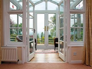 Conservatory with unbroken country views