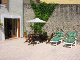 courtyard - ideal for bbq's or just relaxing on a sunbed