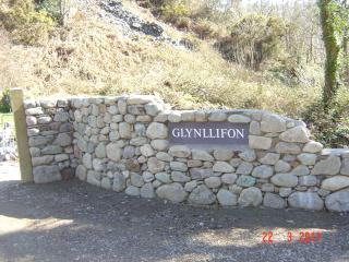 Glynllifon in Welsh means the house in the valley where the stream flows