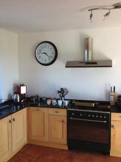 Maple units, granite worktops & all modern appliances including a Nespresso machine