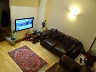 Relax in our comfy lounge area whilst watching the tv. and free wifi