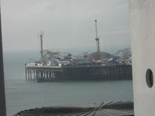 Actual View from the property - only 250 Metres from Brighton Pier