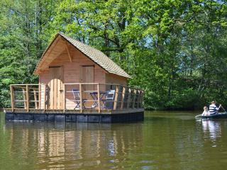 Cabane flottante Belle-Ile, Mayenne