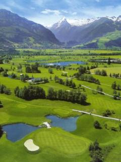 36 hole - Zell am See Golf Courses and Glacier Skiing.