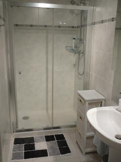 The en-suite with large shower