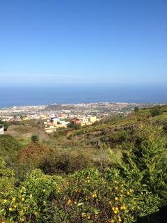 View From Los Suertes Over The Atlantic Ocean