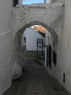 street in Comares