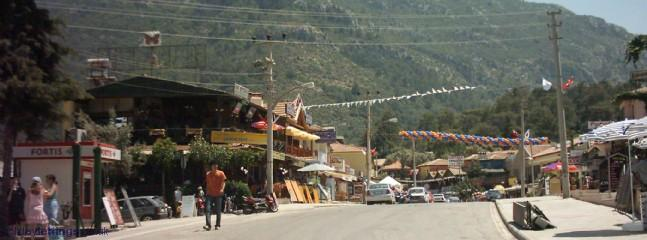 Main street in Hisaronu