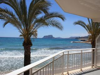 Inside the Moraira´s beach
