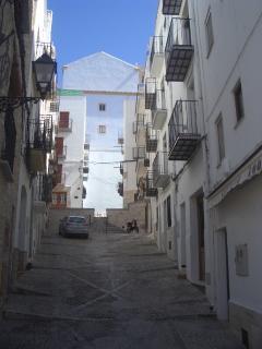 Calle Gonzalez Granda junto la Iglesia