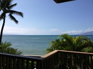 OCEANFRONT-STEPS to water- hear waves crash! 1 BR, Napili-Honokowai