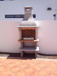 Spanish Brick Barbecue