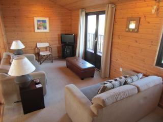 Lounge room with stunning views