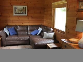 Comfortable living area in Lodge