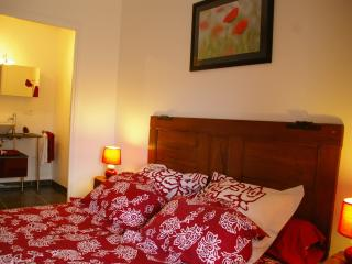 Le clos des pierres rouges:La chambre Pondichery