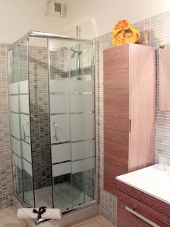 una doccia accogliente