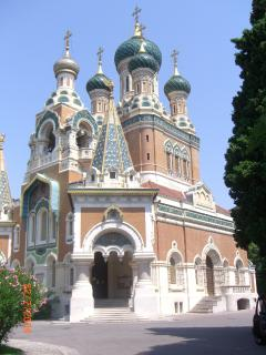 Russian church - 10 minutes walk