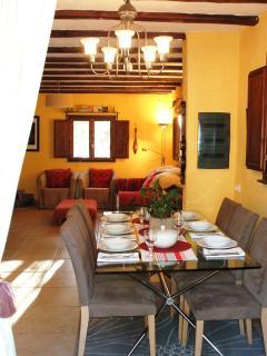 Casa Al Vent inside dining