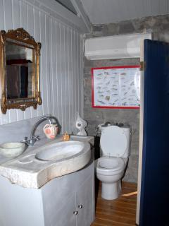 Toilet In The Main Bedroom