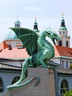 Ljubljana -  capital city, defended by dragons!