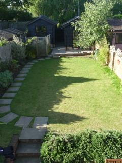 Garden, approx 20 metres by 7.5 metres