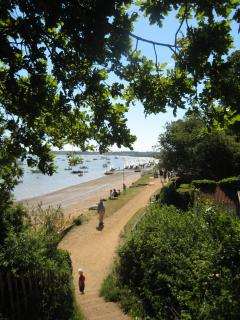 The beach, 2 minutes from Holmlea