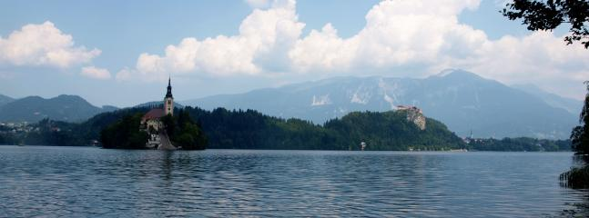 Nearby Lake Bled