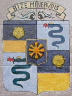 Emblem of Bize-Minervois