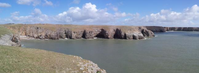 Stackpole (25mins away)