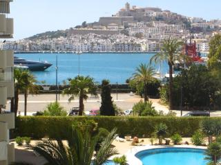 Great view luxury apartment 1st line marina, Ibiza