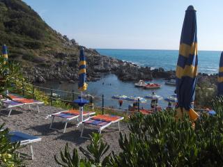 Mare blu sea vew villa 4/6 pax dog  private garden, San Nicola Arcella