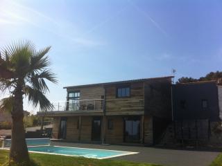 Villa avec piscine et vue mer entre Nice et Monaco, Niza