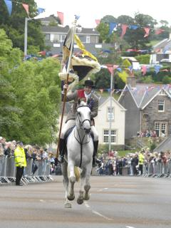 Royal Burgh Selkirk Standard Bearer by Rob Gray