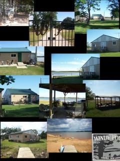 Collage of outside area Windy Point