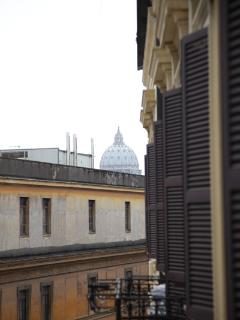 View of St. Peter from balcony