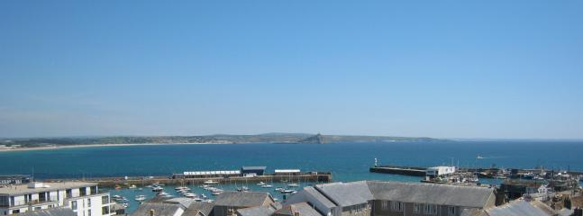 The view across Mounts Bay